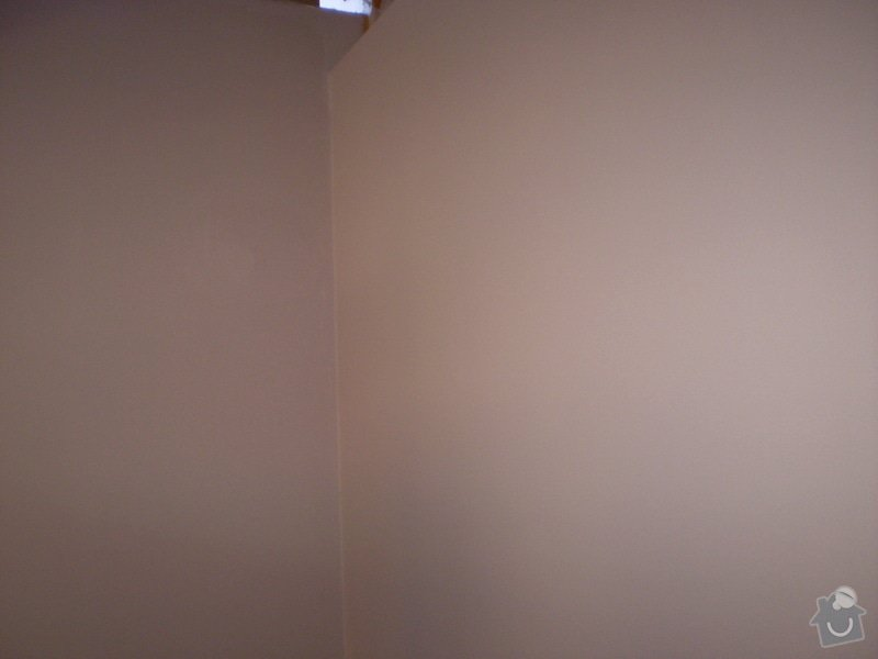 Vnitřní dělící příčka ze sádrokartonu 280 cm x 280: P3160007