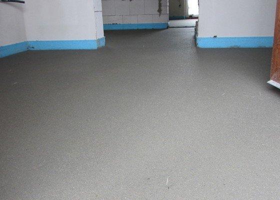 Realizace betonové podlahy