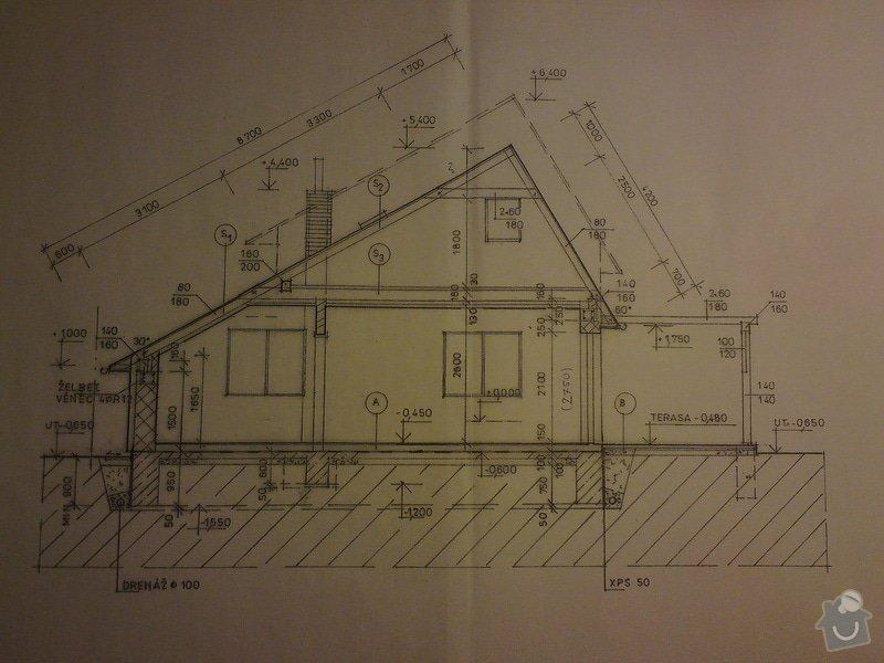 Stavbu sedlové střechy: DSC08454
