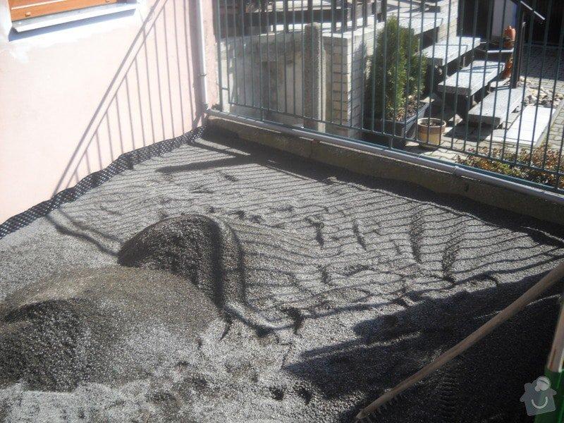 Pokládka dlažby cca 36 m2: DSCN0749