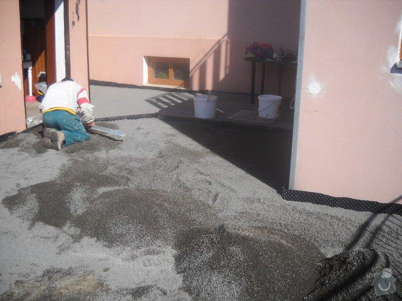Pokládka dlažby cca 36 m2: DSCN0751