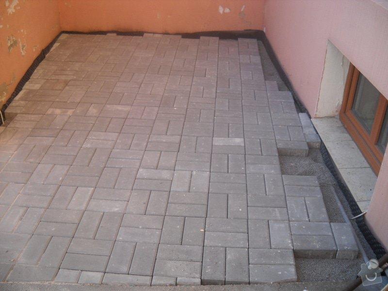 Pokládka dlažby cca 36 m2: DSCN0787