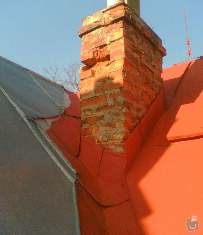 Oprava plechové střechy: Strecha1