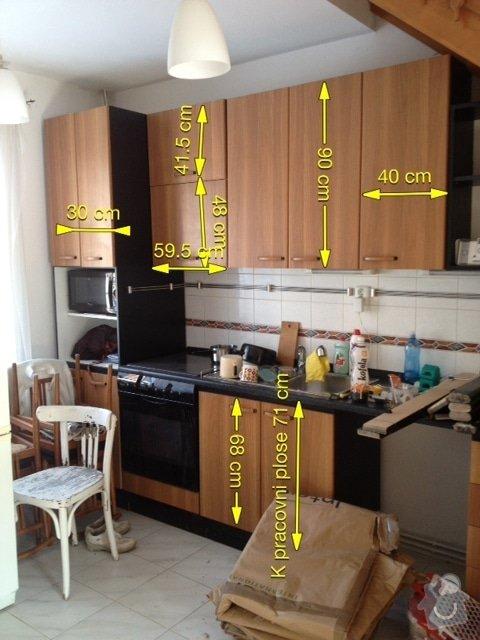 Kuchyňské skříňky na míru: Kuchyn._linka