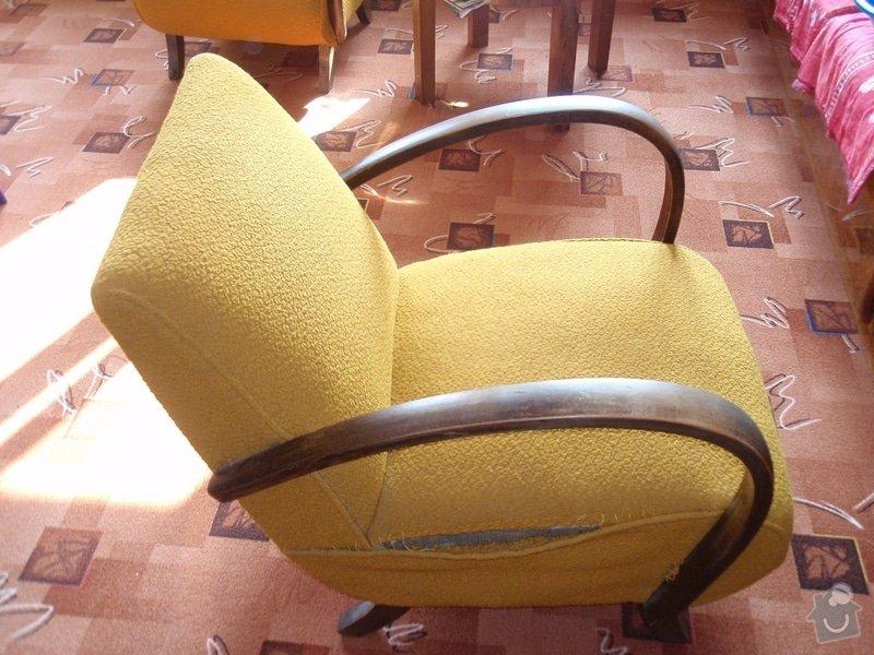 Oprava a čalounění 2 křesel a matrací gauče: P3240007