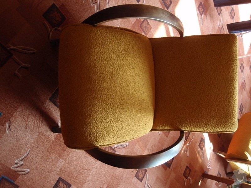Oprava a čalounění 2 křesel a matrací gauče: P3240008