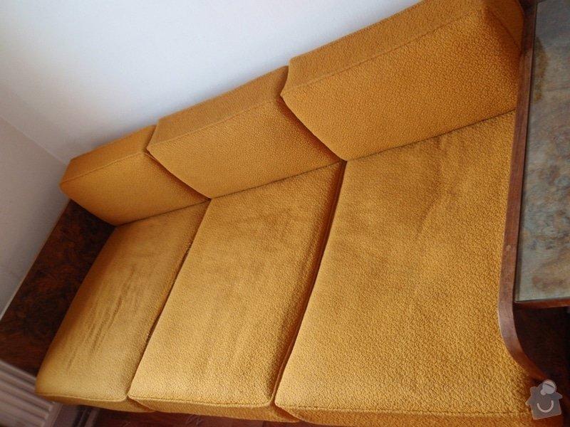 Oprava a čalounění 2 křesel a matrací gauče: P3240010