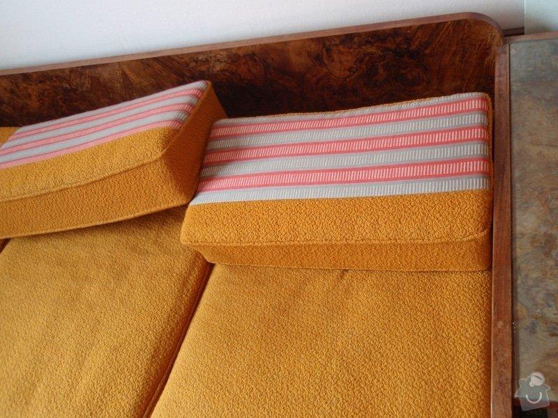 Oprava a čalounění 2 křesel a matrací gauče: P3240012