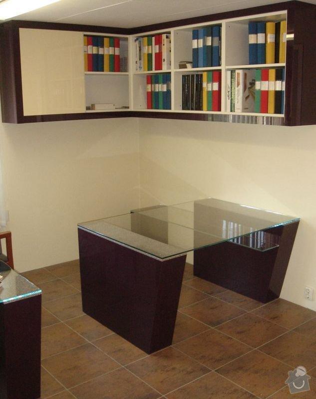 Výroba nábytku: Pracovna