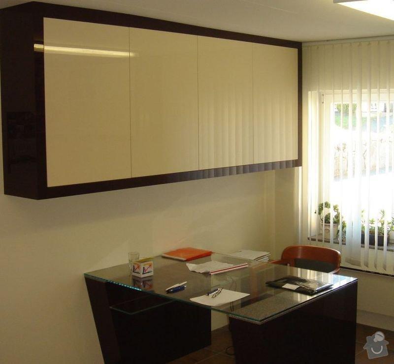 Výroba nábytku: Pracovna_II