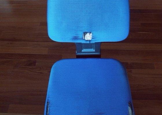 Přečalounění židle