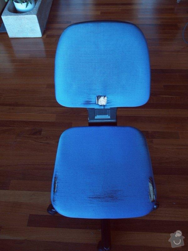Přečalounění židle: P1237583