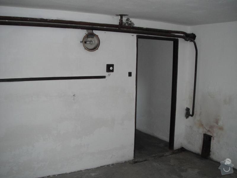 Rekonstrukce interiéru RD, Kostelec nad Černými lesy: sklep_-_komin