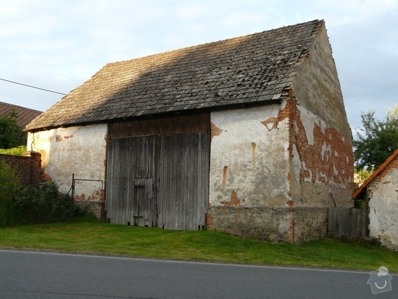 Demolice stodoly: P1090040