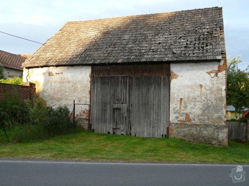 Demolice stodoly: P1090041
