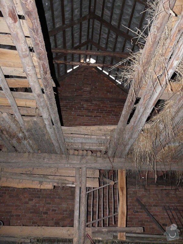 Demolice stodoly: P1090049
