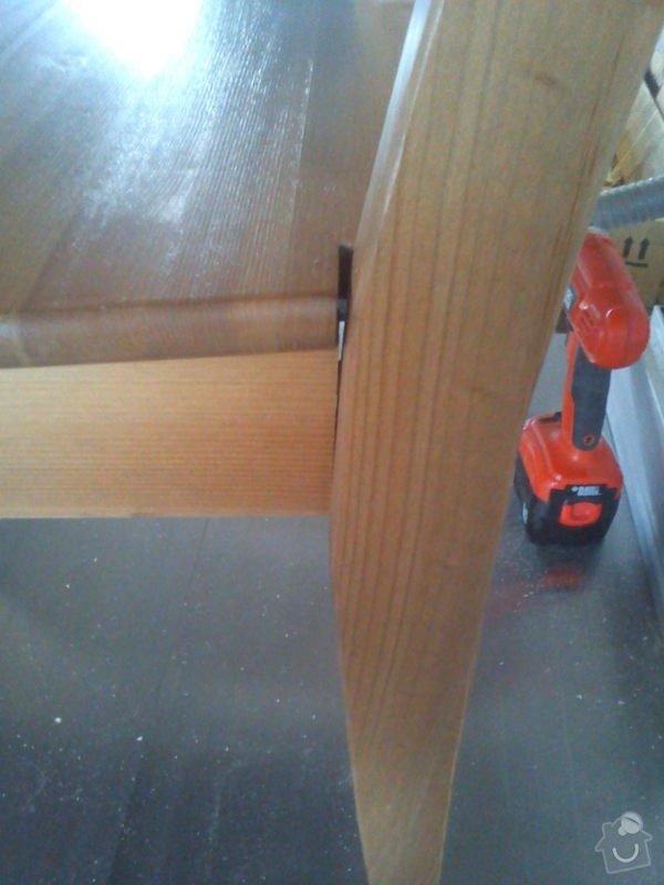 Oprava kuchyňské židle: DSC00103