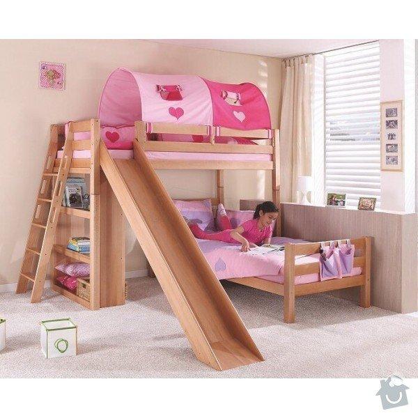 Vyroba patrove postele: postel