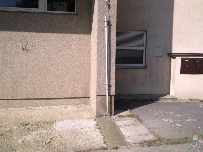 Odstranění závad na hromosvodu panelového domu po revizi: 26032012520