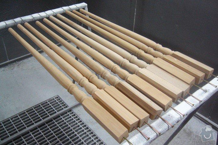 Lakování (nástřik, stříkání) dřevěných dílů: P1010174