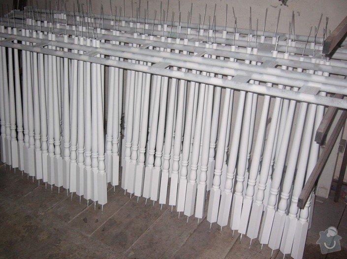 Lakování (nástřik, stříkání) dřevěných dílů: P1010190