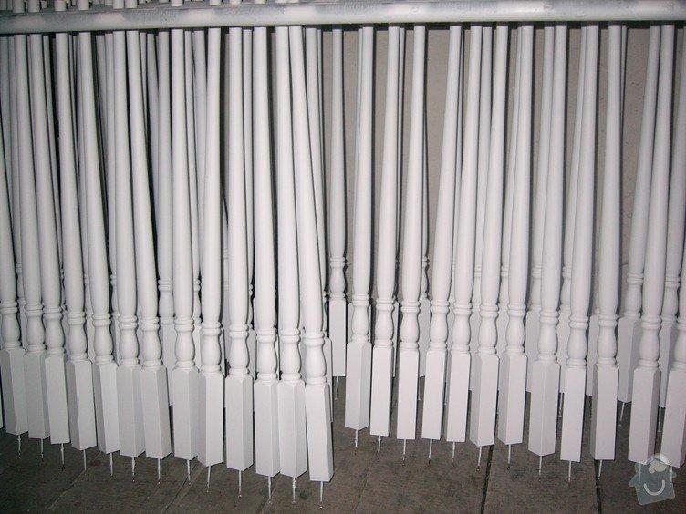 Lakování (nástřik, stříkání) dřevěných dílů: P1010198