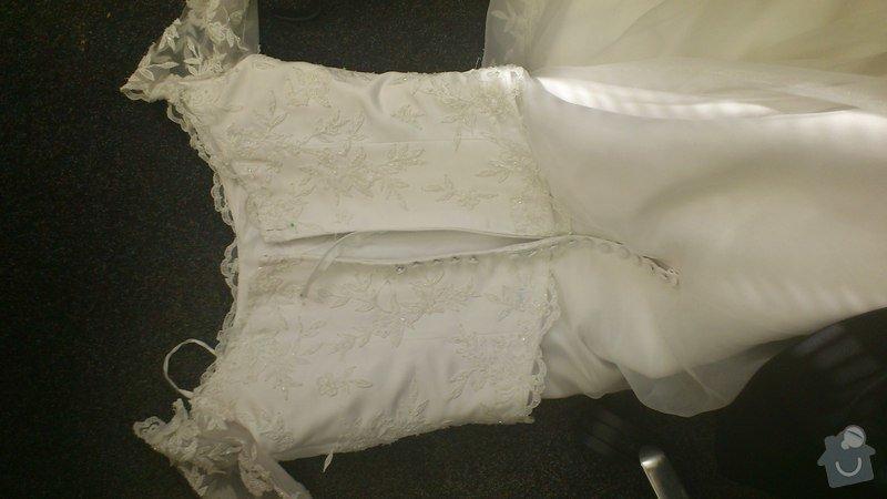 Úpravu svatebních šatů: DSC_0166