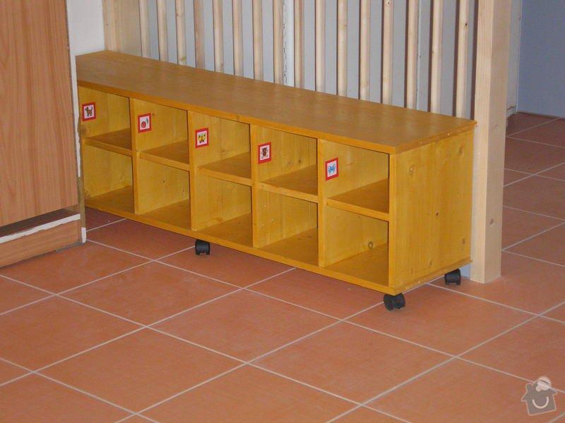 Výroba nábytku na zakázku do mateřské školy Brno: MS_2