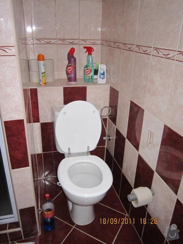 Rekonstrukce koupelny v panelovém bytě: 423640_310146092377678_226247897434165_863070_2015824814_n