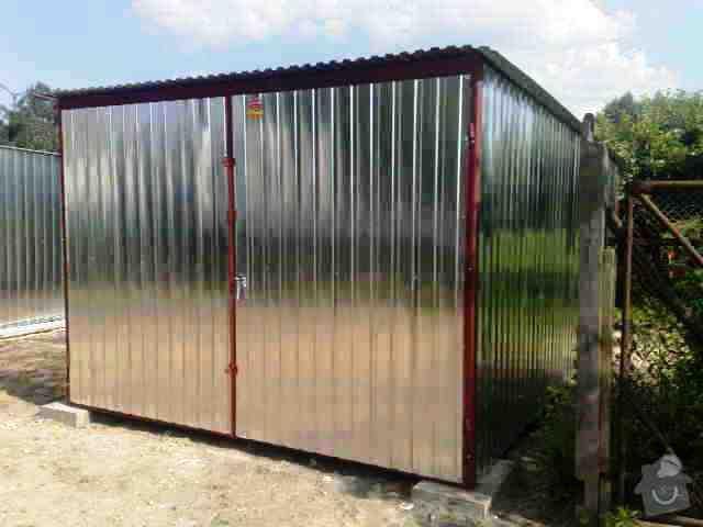 Plechová montovaná garáž: 3x5