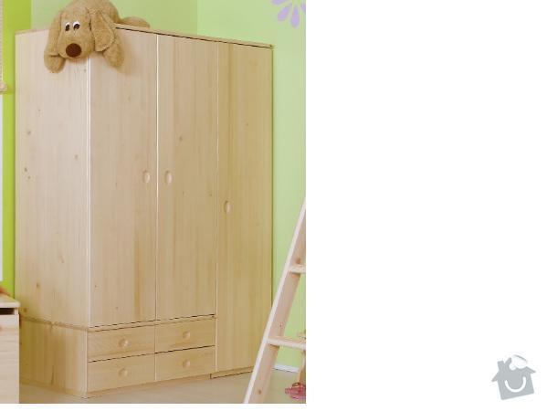 Výrobu skříně: skrin