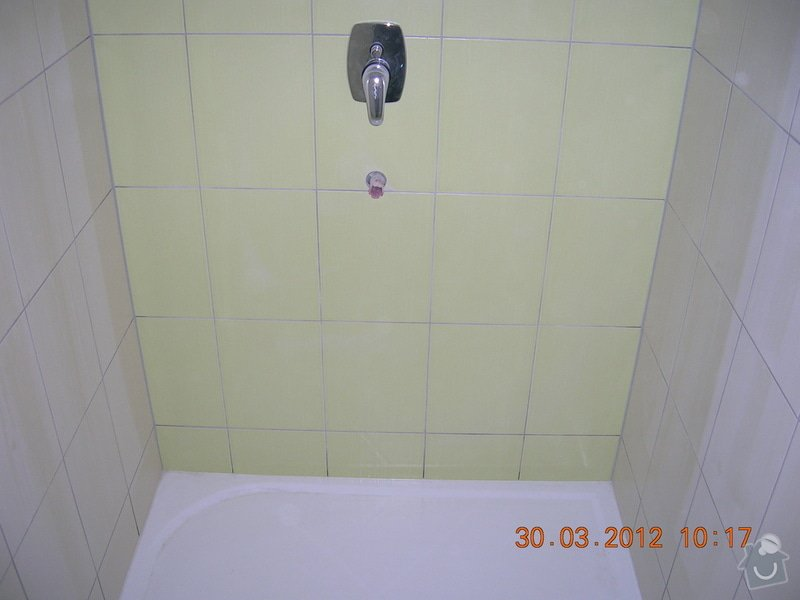 Obložení koupelny,WC a kuchyně: DSCN4304