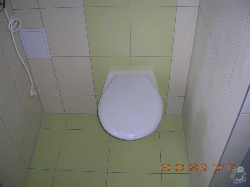 Obložení koupelny,WC a kuchyně: DSCN4306