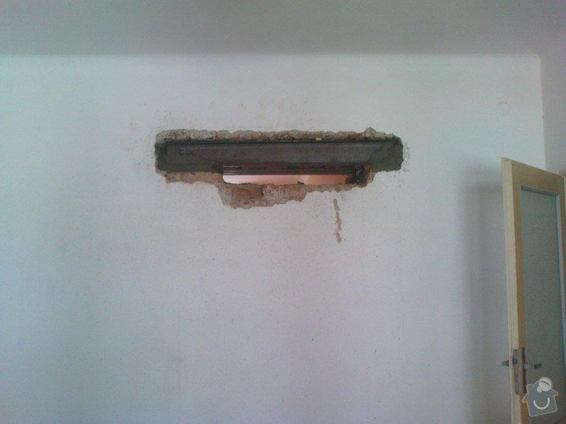 Realizace dveří do nosné zdi : DSC00251