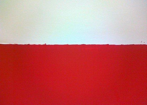 Malířské práce - oprava po malování (1 pokoj) + pověšení 4dílného obrazu