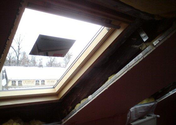 Výměna střešních oken 2.část
