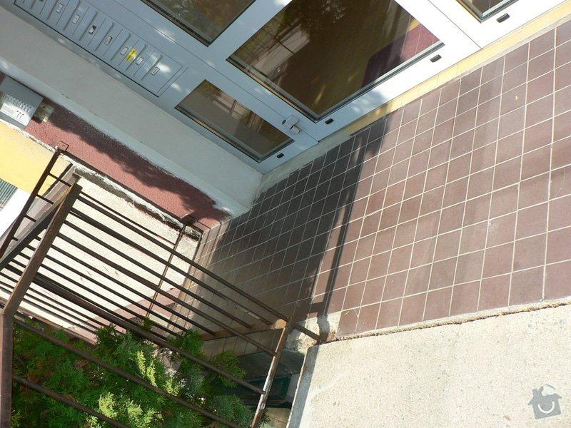 Oprava venkovních schodů u paneláku : P1150612