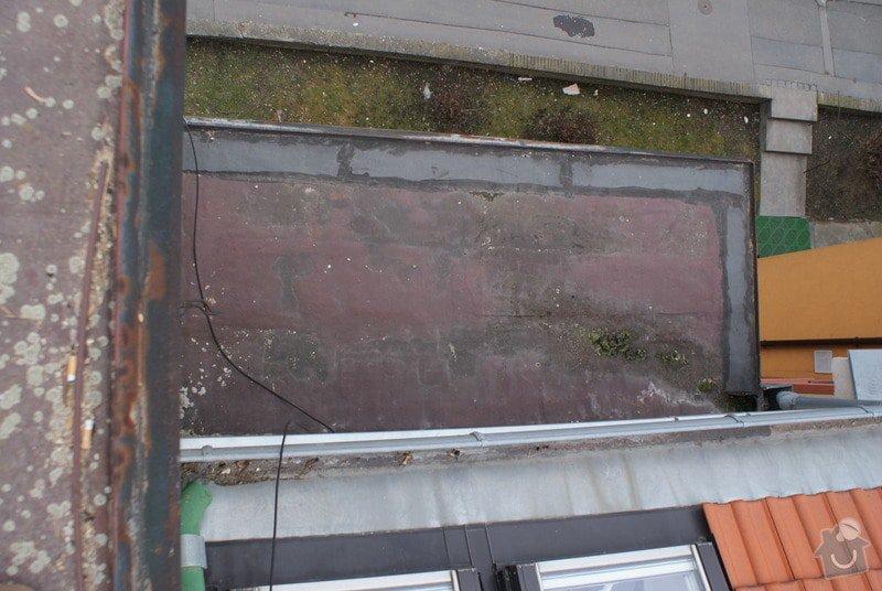 Realizace skladby ploché střechy a odstranění starých vrstev 31 m2: DSC09923