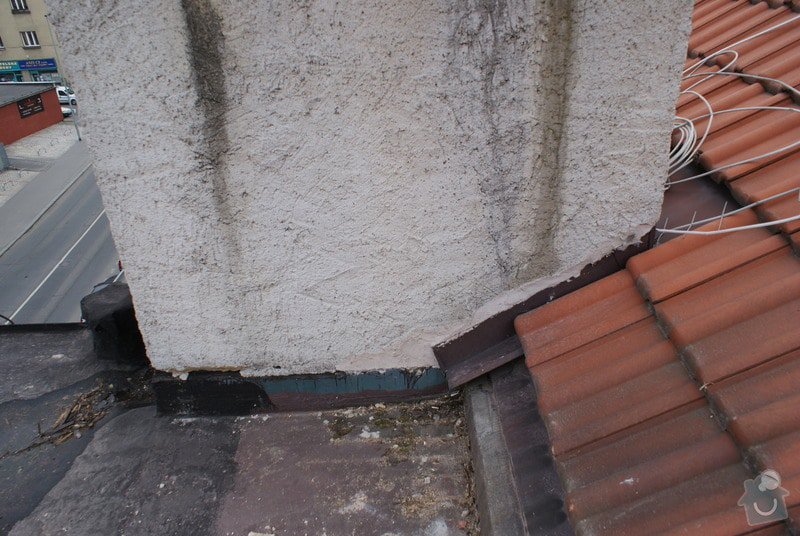 Realizace skladby ploché střechy a odstranění starých vrstev 31 m2: DSC09927