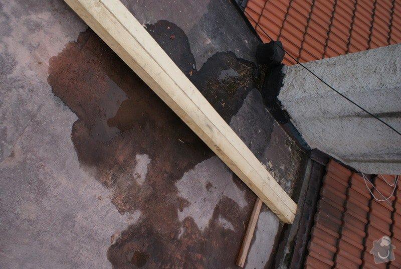 Realizace skladby ploché střechy a odstranění starých vrstev 31 m2: DSC09920