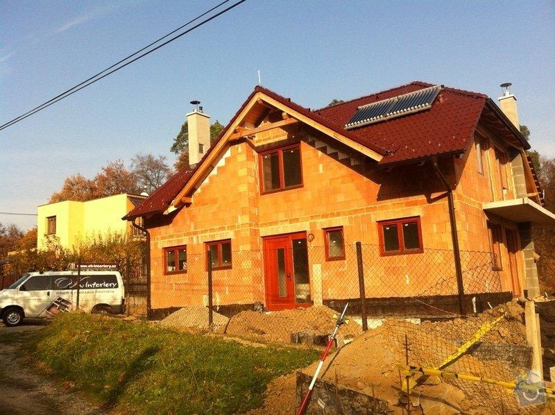 Dodávka plovoucích dřevěných a laminátových podlah do RD Račice: IMG_0059