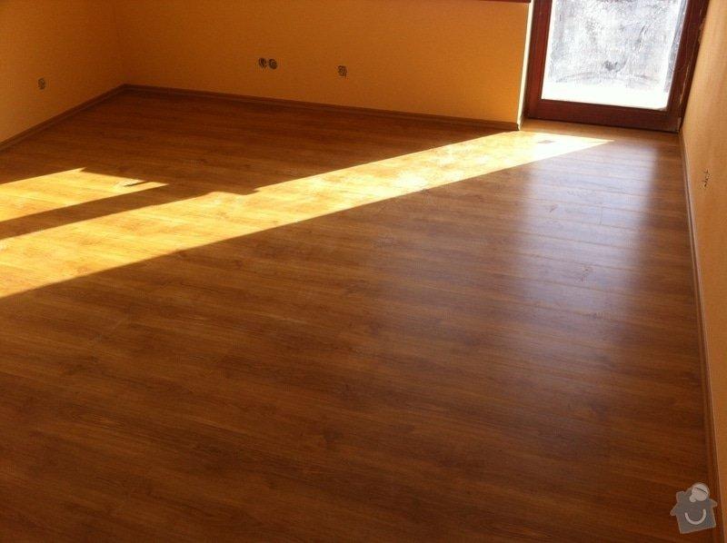 Dodávka plovoucích dřevěných a laminátových podlah do RD Račice: IMG_0062