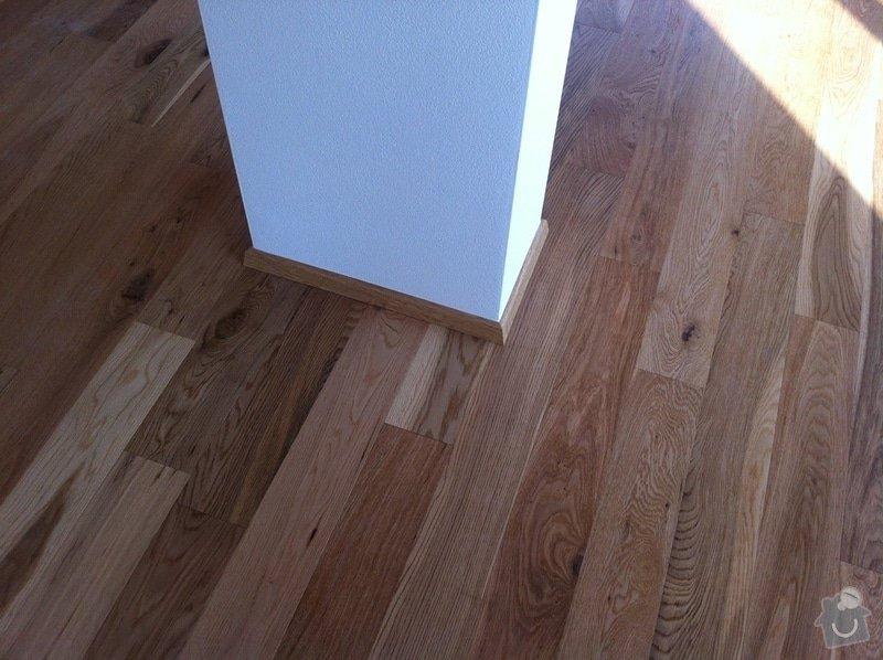 Dodávka plovoucích dřevěných a laminátových podlah do RD Račice: IMG_0073