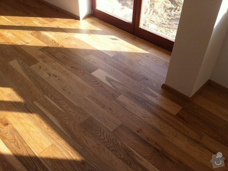 Dodávka plovoucích dřevěných a laminátových podlah do RD Račice: IMG_0074