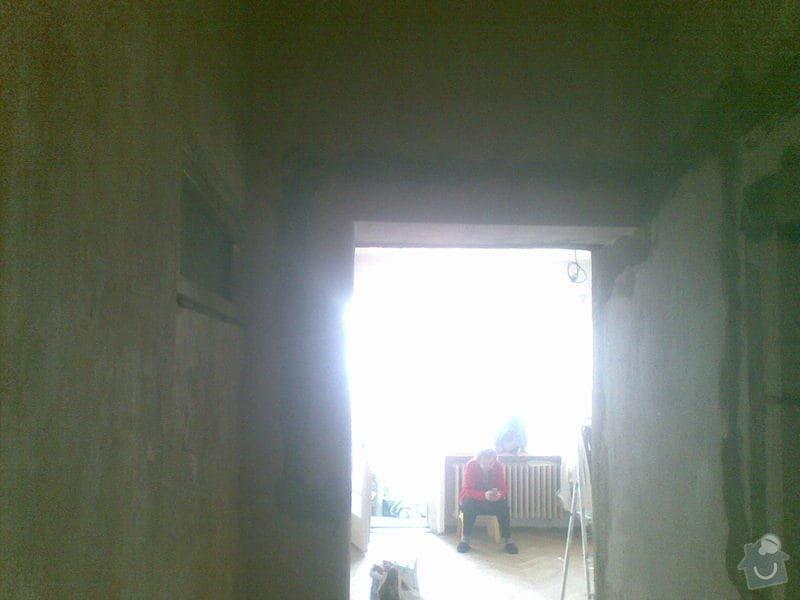 Zděni 4 otvoru na posuvné dveře,zárubne: kour3