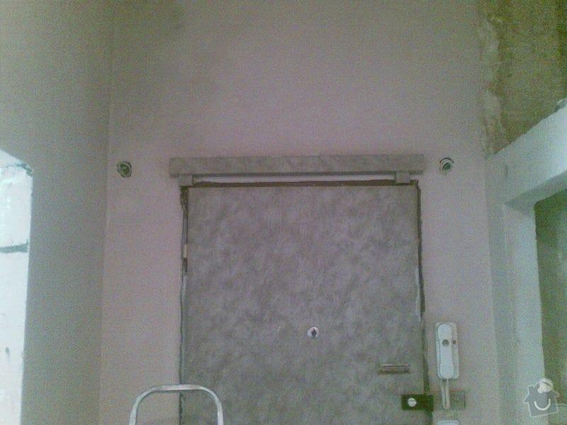 Zděni 4 otvoru na posuvné dveře,zárubne: kour7