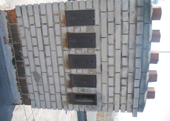 Oprava komínů