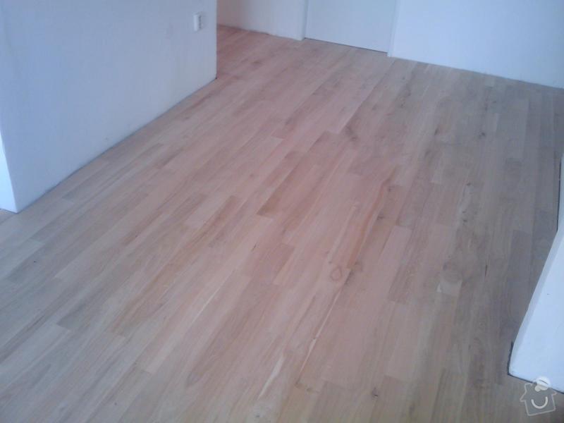 Pokládka dubové masivní podlahy: IMAGE_097