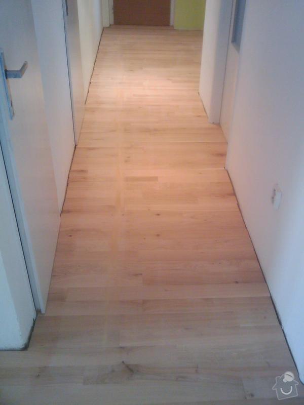 Pokládka dubové masivní podlahy: IMAGE_098