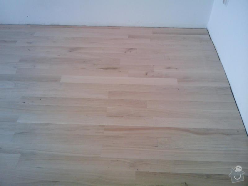 Pokládka dubové masivní podlahy: IMAGE_099